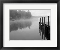 Framed Stillness BW
