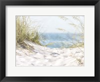 Coastal Photograpy Textured Framed Print