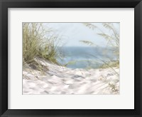 Coastal Photograpy Untextured Framed Print