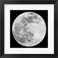 To The Moon 2 Framed Print