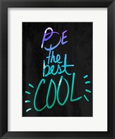 Cool Blues Framed Print