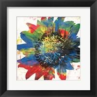 Flower On The Bright Side Framed Print