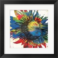 Flower On The Bright Side Mate Framed Print