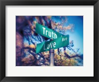 Framed Truth and Love