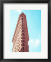 Flat Iron Curves 2 Framed Print
