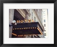 Framed NYC Hotel