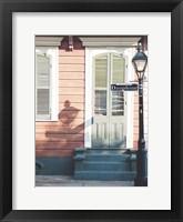 NOLA Doors 2 Framed Print