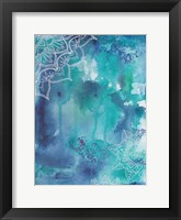 Blue Balance Framed Print