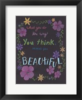 Forever Beautiful Framed Print