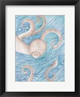 Framed Sea Of Octopus