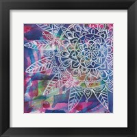 Tubular Flower 3 Framed Print