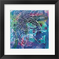 Tubular Flower 4 Framed Print
