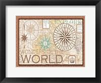 Framed Wonders of the world Main ART