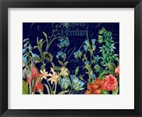 Framed Midnight Garden