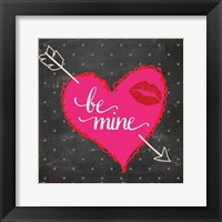 Valentines Day Heart 1 Framed Print