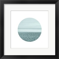 Window Into The Sea 1 Framed Print