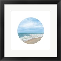 Waves To Sea 2 Framed Print