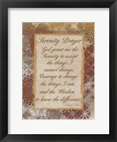 Framed Godly Serenity