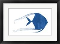 Framed Blue Angel