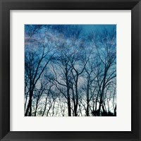 Blue Mountain Framed Print