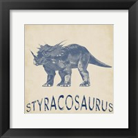 Styracosaurus Dino Framed Print