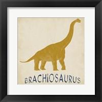 Brachiosaurus Dino Framed Print