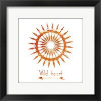 Follow The Sun 2 Framed Print