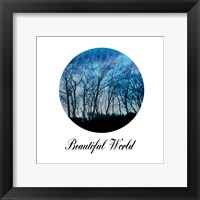 Beautiful World Framed Print