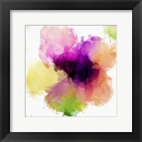 Watercolor Floral I Framed Print