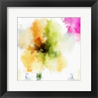 Watercolor Floral II Framed Print