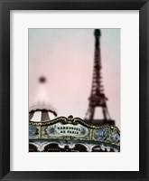 Framed Carousel Tower