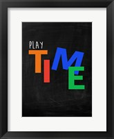 Kids Typo 2 Framed Print