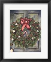 Framed Holiday Wreath