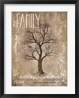 Framed Family - Like Branches Of A Tree