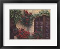 Framed Tuscan Trellis