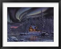 Framed Aurora Bliss