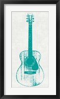 Guitar Collectior I Framed Print