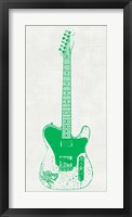 Guitar Collectior II Framed Print