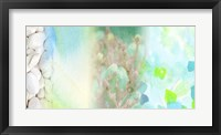 Serene Photo Collage V Framed Print