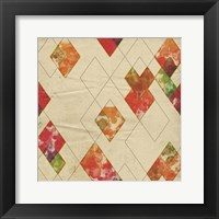 Geometric Color Shape II Framed Print