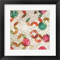 Geometric Color Shape VI Framed Print