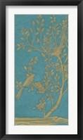 Topaz Chinoiserie I Framed Print