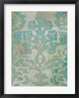 Velvet & Damask II Framed Print