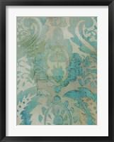 Velvet & Damask III Framed Print