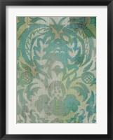 Velvet & Damask IV Framed Print