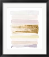 Pastel Sweep II Framed Print