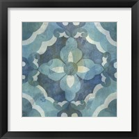 Patinaed Tile III Framed Print