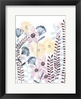 Pastel Posies I Framed Print
