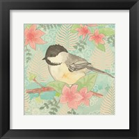 Framed Chickadee Day II