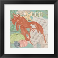 Framed Fresh Seafood II